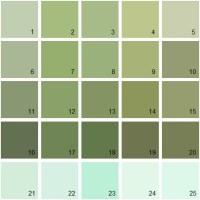 Benjamin Moore Paint Colors - Green Palette 13 | House ...