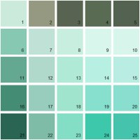 Benjamin Moore Paint Colors - Green Palette 20 | House ...