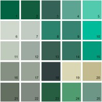 Benjamin Moore Paint Colors - Green Palette 24 | House ...