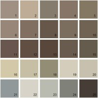 Taupe Color Chart Pictures to Pin on Pinterest