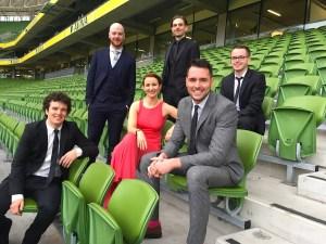 House Party Band Ireland at the Aviva Stadium
