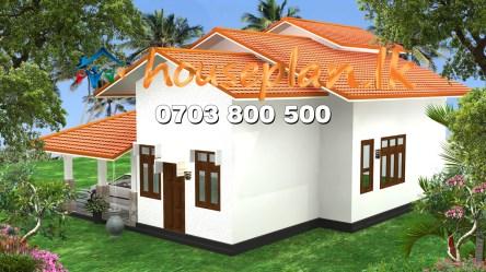 sri lanka plan low budget plans cost bedroom lk houseplan land architectural single story construction contruction