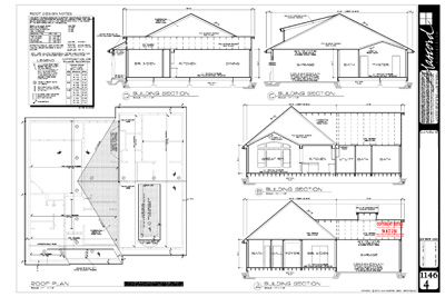 Roof Plans Examples & What U0027s In A Good Set Of House
