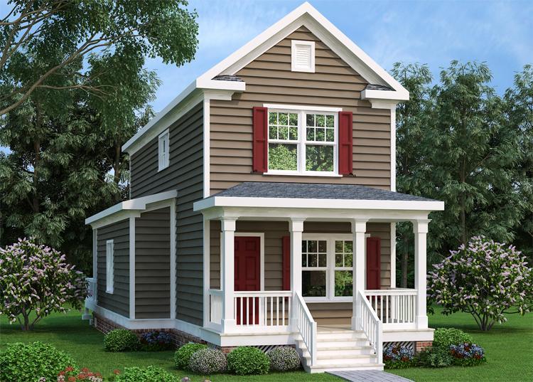 Bungalow Plan: 1,400 Square Feet, 3 Bedrooms, 2 Bathrooms