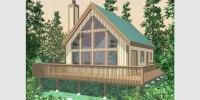 Timber Frame Homes, A-Frame House Plans