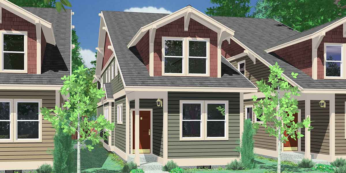 Rear Garage Access House Plans Alley Way