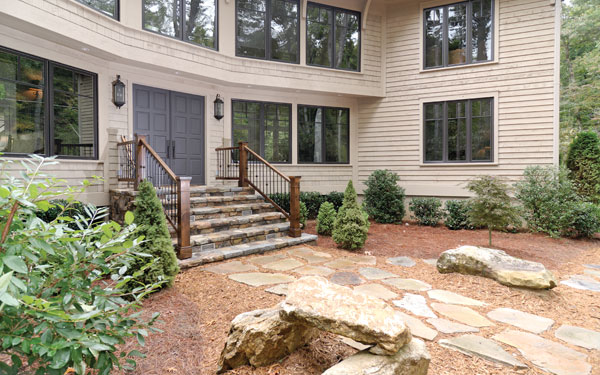 Stone Walkway Ideas House Plans And More