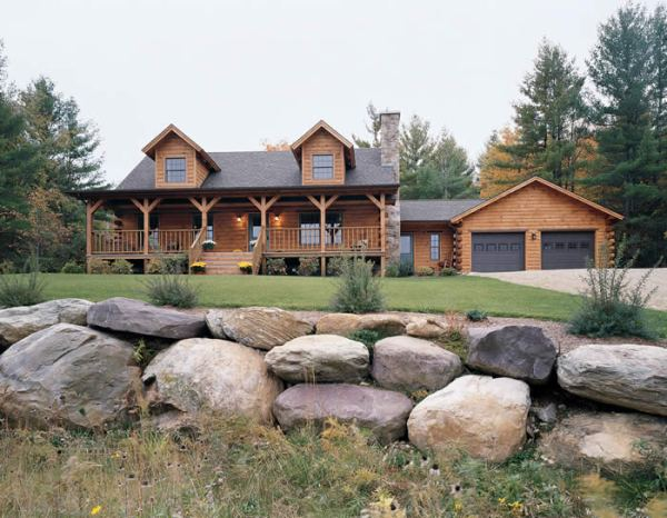 country homes & log landscaping