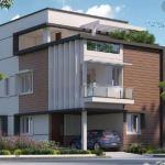 40x60 duplex luxury house design, 3d elevation