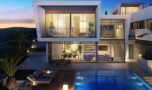 Luxury villas 3d elevations