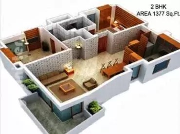 2BHK APPARTMENT STYLE