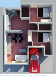 30x40 house plan floor design 3d
