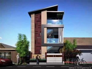 front elevation design 25x40 east face