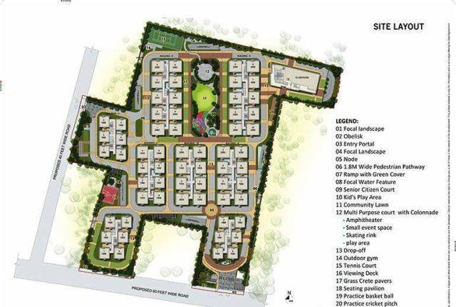 RESIDENTIAL LAYOUT PLOTS DESIGN AT CHIKKABALLAPURA