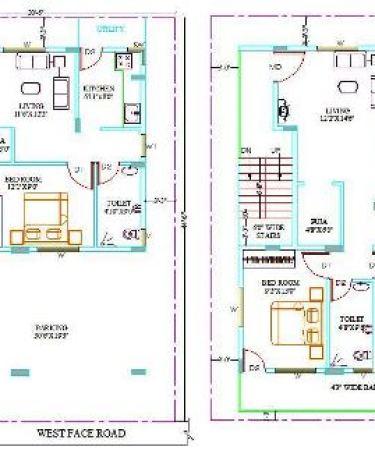 35x45 house plan 190
