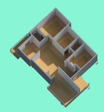 25x35 house plan {3D} mr satish plan 1