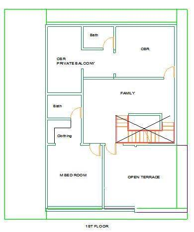 32x50 First Floor Mr Dhanunjaya-duplex house plan