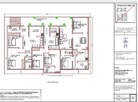 40x60 luxury floor plan 1st floor 3 House design