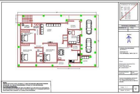 40x60 luxury floor plan ground floor design