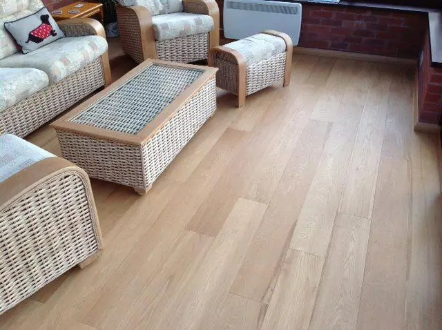 wood flooring for self build