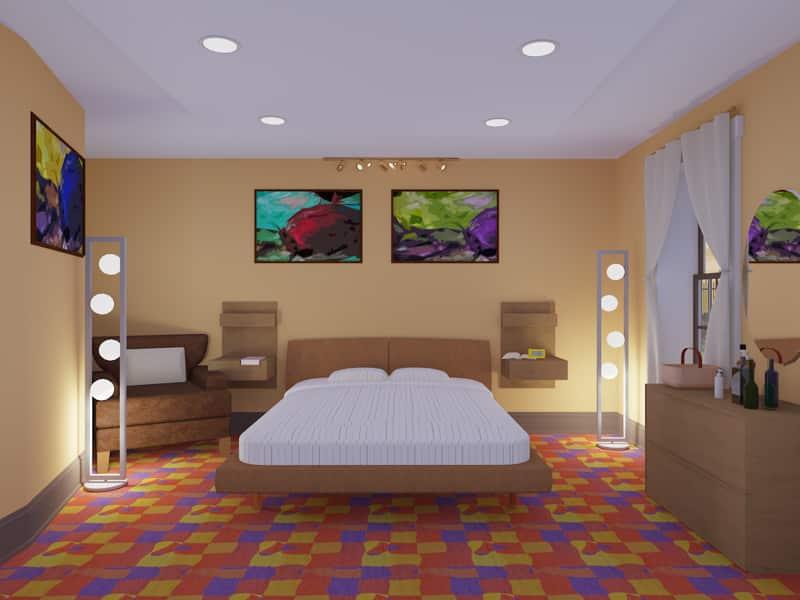 two bedroom bungalow designs