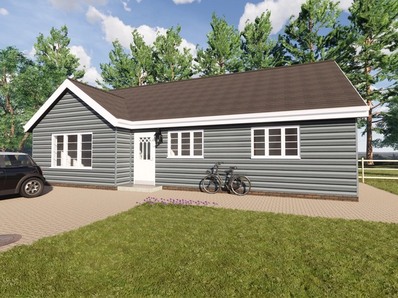 family bungalow plans