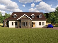 four bedroom dormer house plans