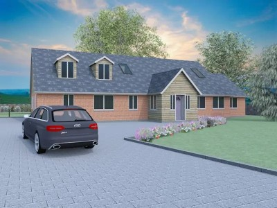 contemporary dormer bungalow designs