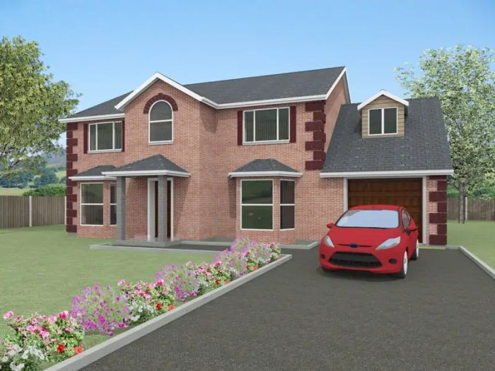 detached family house plans