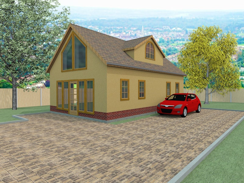 Chalet style house designs the burleygate houseplansdirect for House plans designs direct