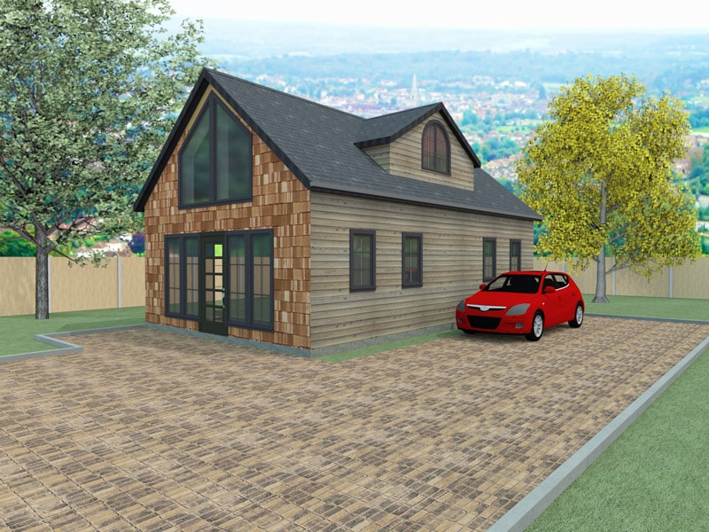 Chalet style house designs the burleygate houseplansdirect for Chalet style home designs