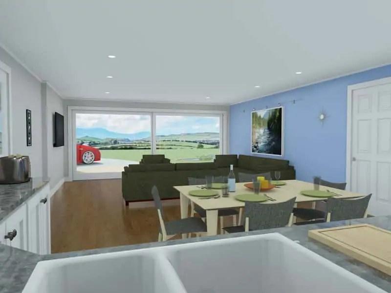 single storey modern house design