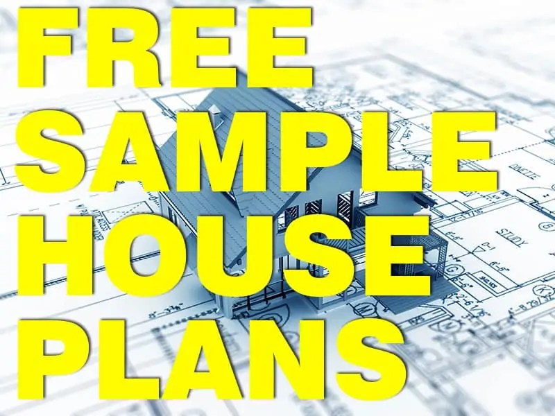 Free download house plans sample houseplansdirect for Free sample floor plans