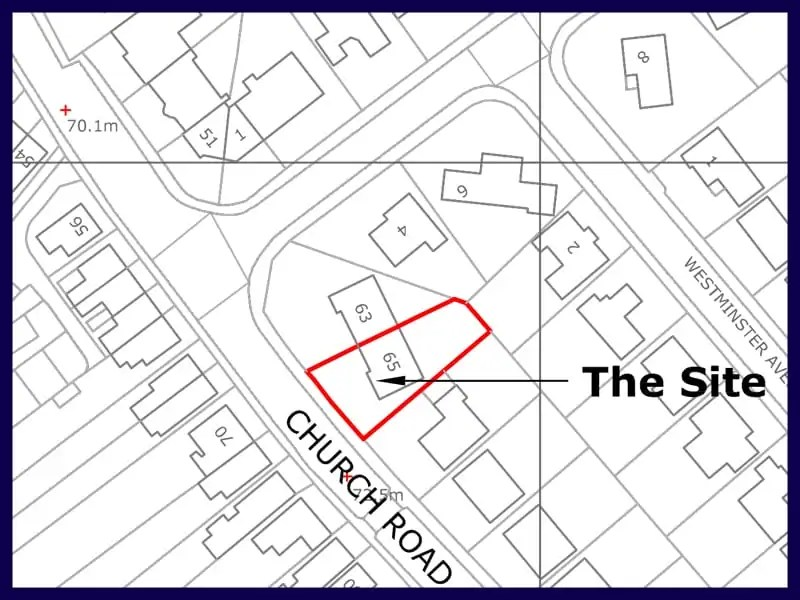 Planning Application Location Plan (Planning Map