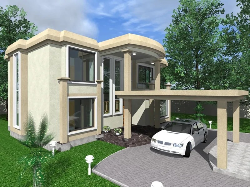 Four Bedroom Maisonette House Design The Eldoret