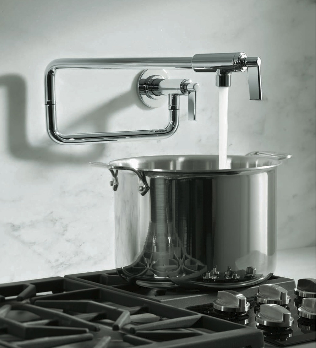 pot fillers and commercial style