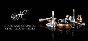 Houser Brass and Stainless Steel Mouthpieces