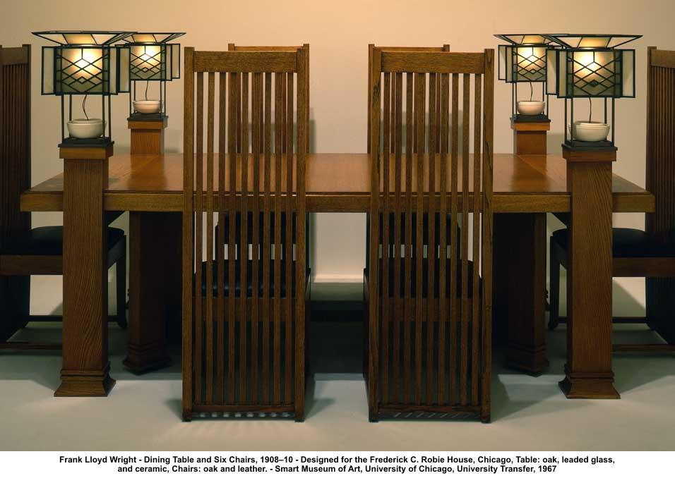 frank lloyd wright chairs wicker nz the tyranny of living in style housesandbooks sitting
