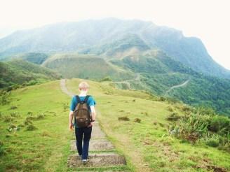 We went hiking in Taiwan