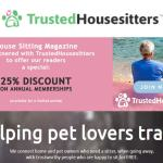 Trustedhousesitters discount 25%
