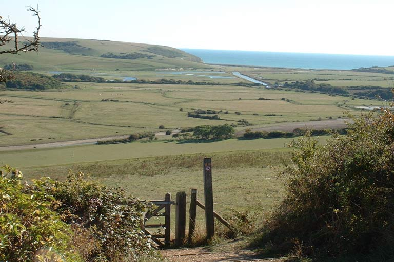 A view from high on the South Downs