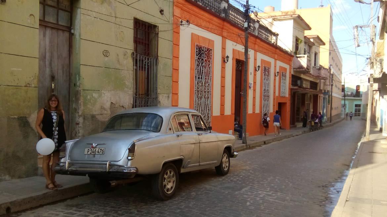 Vanessa explores Old Havana in Cuba2017