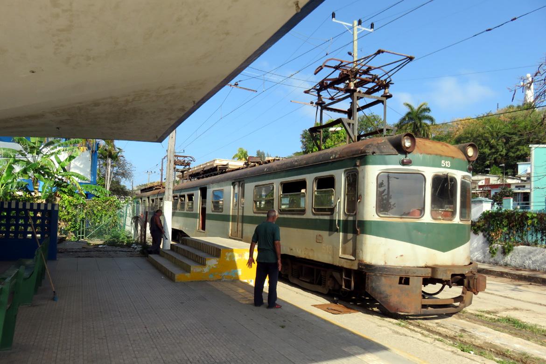 The Hershey Train at Casablanca Station, Havana. Cuba