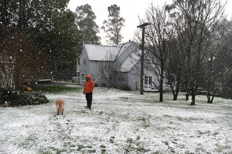 Wintry days in Tasmania