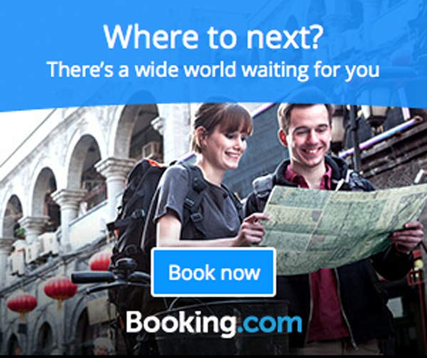 Find great hotel deals all over the world with Booking.com