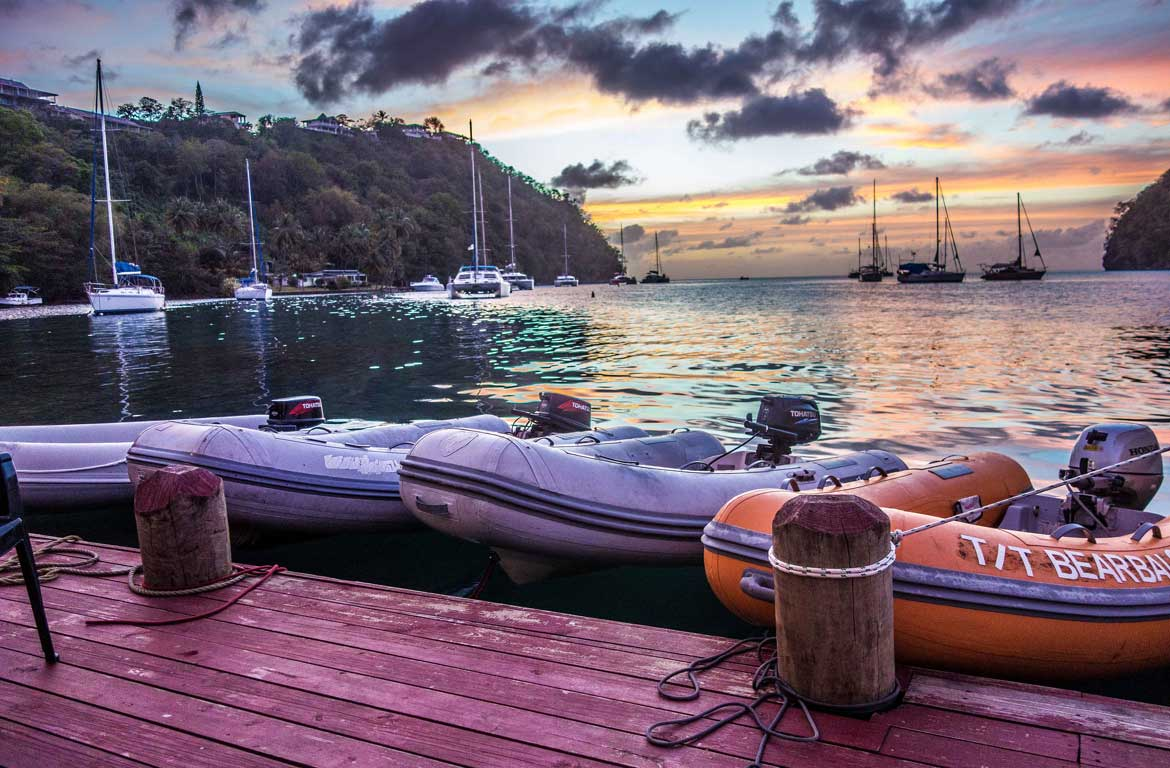 cost of living house sitting in St Lucia