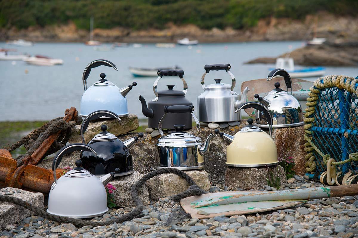 A range of AGA kettles
