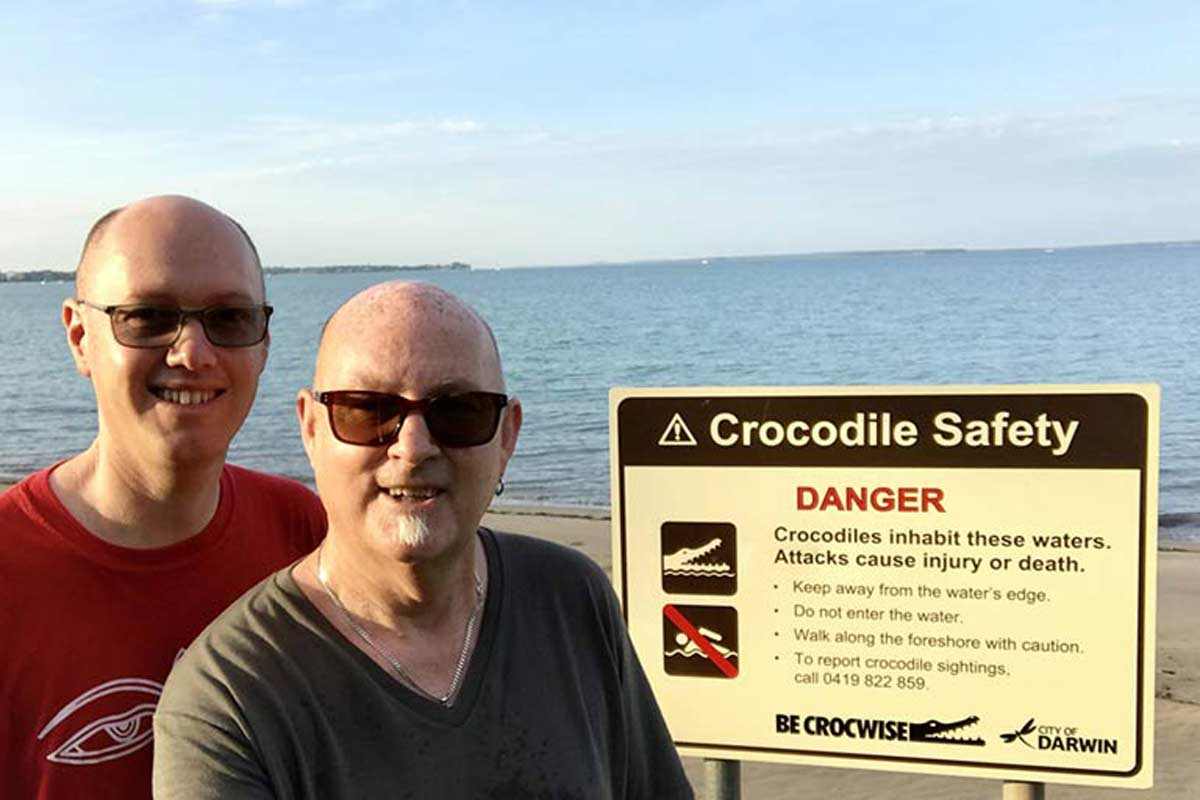 House Sits Darwin - Risk of Crocodiles