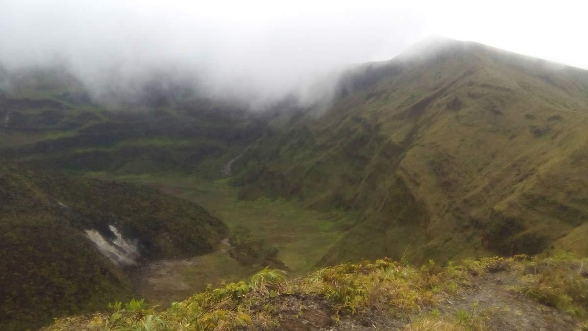La Soufriere Volcano St Vincent