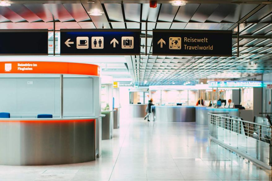 House sitters experience empty airports
